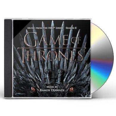 RAMIN DJAWADI Game of Thrones: Season 8 (OST) CD