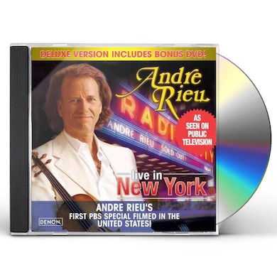 Andre Rieu Radio City - Live In NY (CD/DVD Combo) (Deluxe Edition) CD