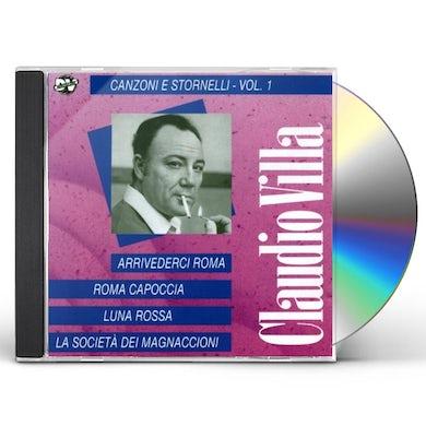 Claudio Villa CANZONI E STORNELLI VOL.1 CD