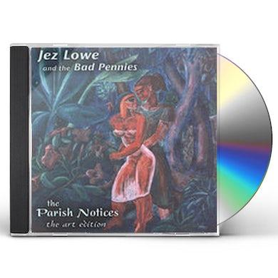 Jez Lowe PARISH NOTICES CD