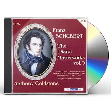 Schubert PIANO MASTERWORKS 3 CD