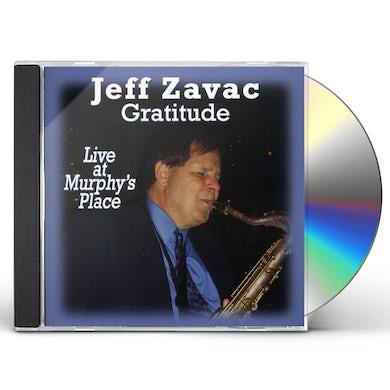 Jeff Zavac GRATITUDE CD