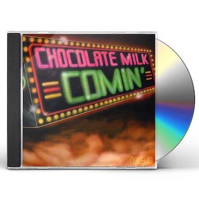 Chocolate Milk COMIN' (BONUS TRACKS EDITION) CD