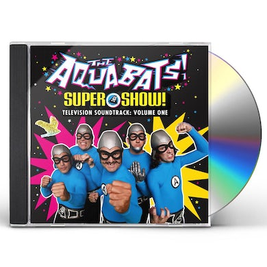Aquabats SUPER SHOW - TELEVISION SOUNDTRACK: VOLUME ONE CD