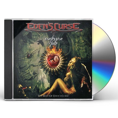 Eden's Curse CONFESSION OF FATE: BEST OF CD