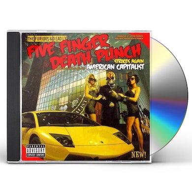 Five Finger Death Punch AMERICAN CAPITALIST CD