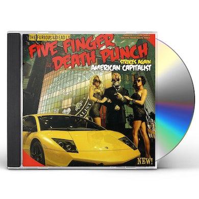 Five Finger Death Punch AMERICAN CAPITALIST (ED) CD