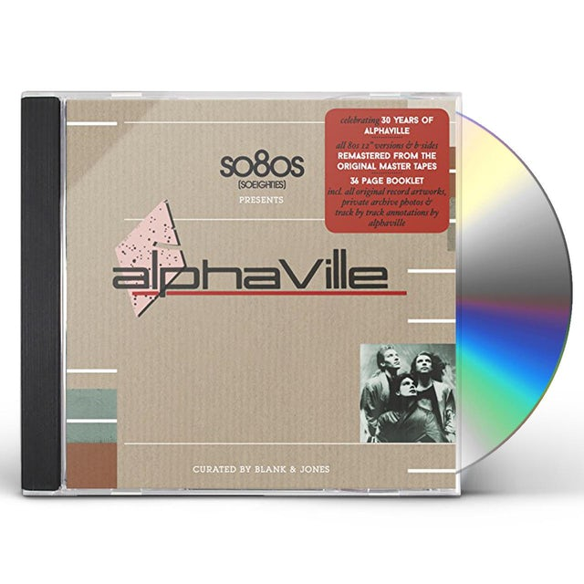 Alphaville SO80S PRESENTS (CURATED BY BLANK & JONES) CD