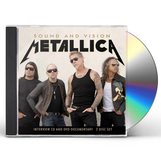 Metallica SOUND & VISION CD