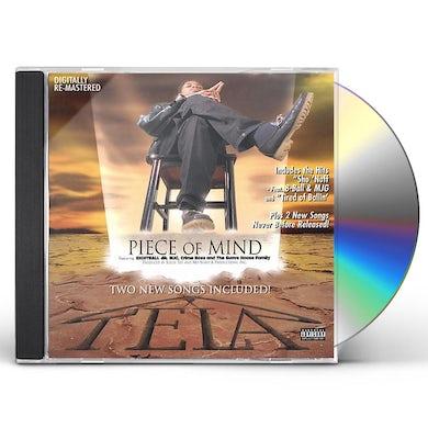 Tela PIECE OF MIND CD
