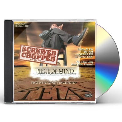 Tela PIECE OF MIND (SCREWED & CHOPPED) CD