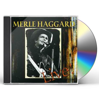 Merle Haggard WORKIN MAN BLUES LIVE CD