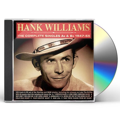 Hank Williams COMPLETE SINGLES AS & BS 1947-55 CD