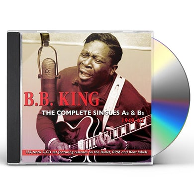 B.B. King COMPLETE SINGLES AS & BS 1949-62 CD