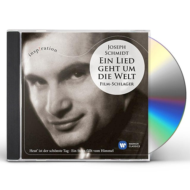 Joseph Schmidt EIN LIED GEHT UM DIE WELT (INSPIRATION SERIES) CD