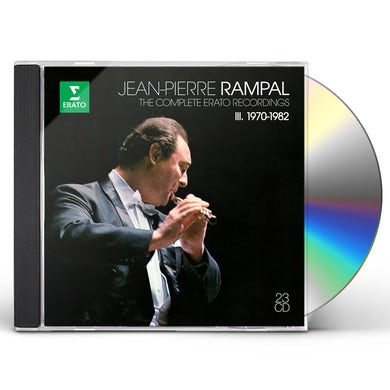 Jean-Pierre Rampal COMPLETE ERATO RECORDINGS 3 CD