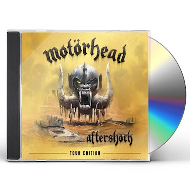 Motorhead AFTERSHOCK: TOUR EDITION CD