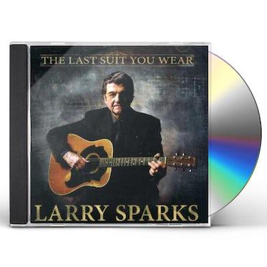 Larry Sparks LAST SUIT YOU WEAR CD