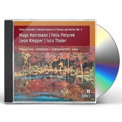 HERRMANN / LESSING / KERSTEN FRANZ SCHREKER 4 CD