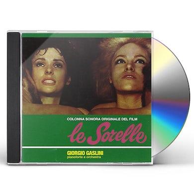 Giorgio Gaslini LE SORELLE / Original Soundtrack CD
