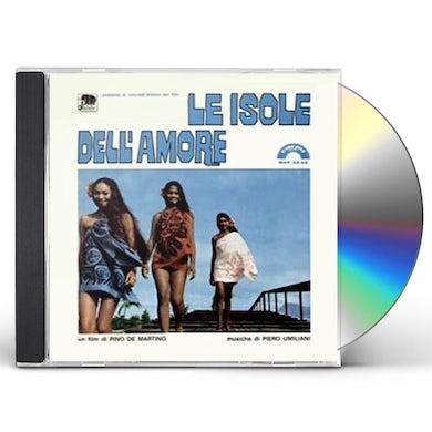 Piero Umiliani LE ISOLE DELL AMORE / Original Soundtrack CD