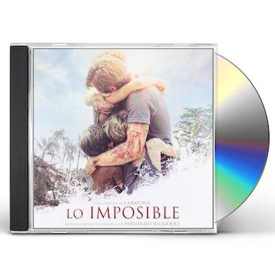 Fernando Vel Zquez LO IMPOSIBLE BSO CD