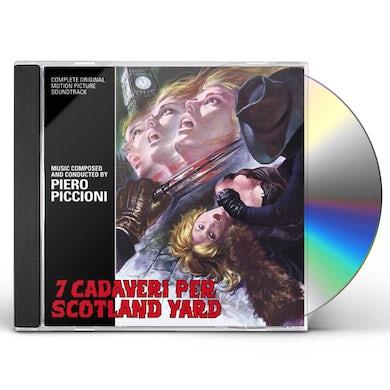 Piero Piccioni SEVEN MURDERS FOR SCOTLAND YARD / Original Soundtrack CD