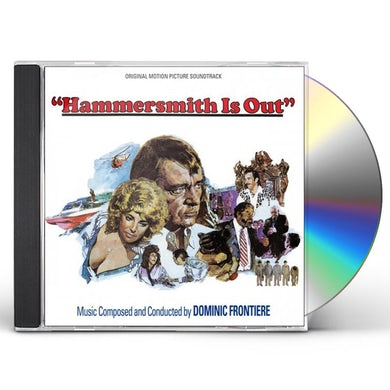 Dominic Frontiere HAMMERSMITH IS OUT / Original Soundtrack CD