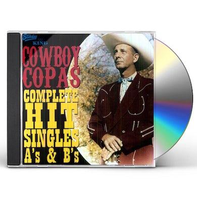 Cowboy Copas COMPLETE HIT SINGLES A'S & B'S CD