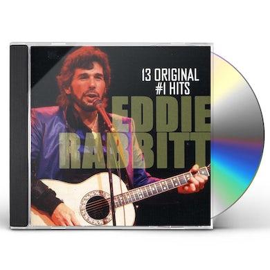 Eddie Rabbitt 13 ORIGINAL #1 HITS CD