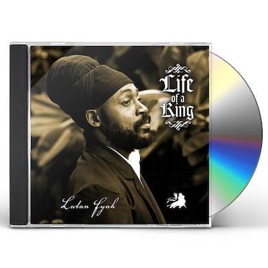 Lutan Fyah LIFE OF A KING CD
