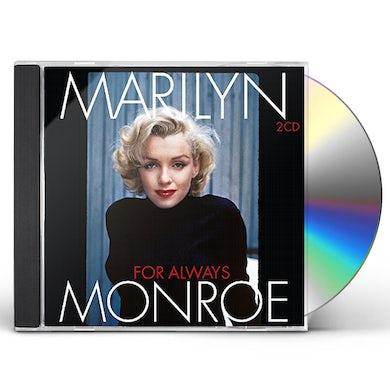 Marilyn Monroe FOR ALWAYS CD