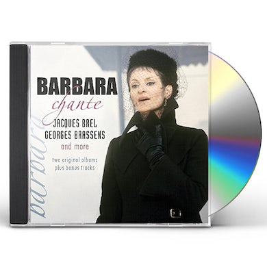 BARBARA CHANTE JACQUES BREL GEORGES BRASSENS & MORE CD