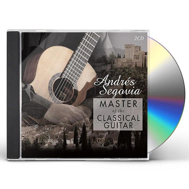Andres Segovia MASTER OF THE CLASSICAL GUITAR CD