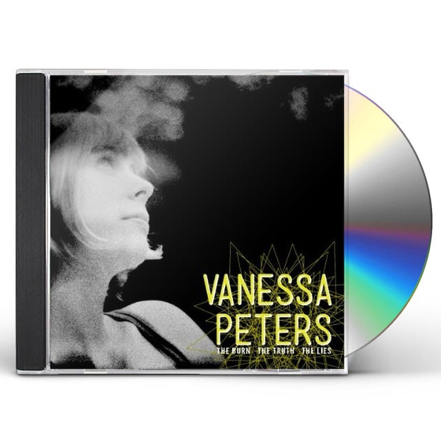 Vanessa Peters BURN THE TRUTH THE LIES CD