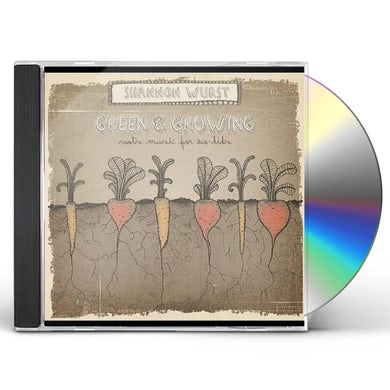 Shannon Wurst GREEN & GROWING: ROOTS MUSIC FOR ECO-KIDS CD
