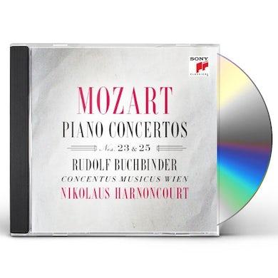 Nikolaus Harnoncourt PIANO CONCERTOS NOS 23 & 25 CD