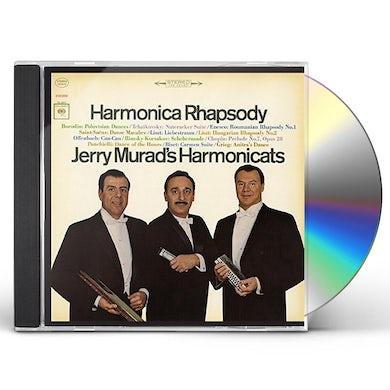 Jerry Murad's Harmonicats HARMONICA RHAPSODY CD