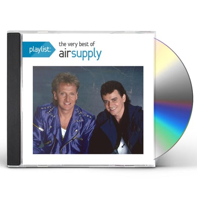 PLAYLIST: THE VERY BEST OF AIR SUPPLY CD