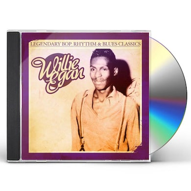 Willie Egan LEGENDARY BOP RHYTHM & BLUES CLASSICS CD