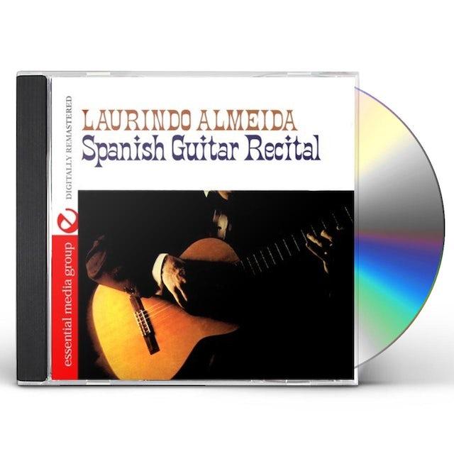 Laurindo Almeida SPANISH GUITAR RECITAL CD