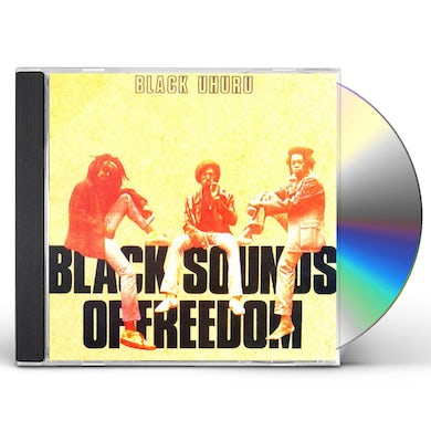 Black Uhuru BLACK SOUNDS OF FREEDOM CD