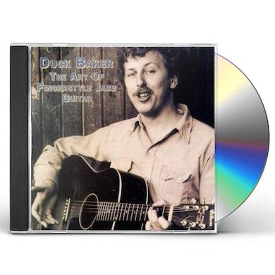 Duck Baker ART OF FINGERSTYLE JAZZ GUITAR CD