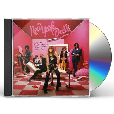 New York Dolls ONE DAY IT WILL PLEASE US CD