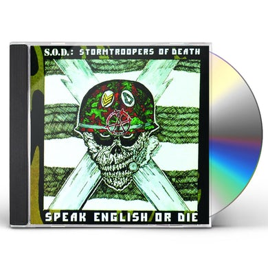 S.O.D. SPEAK ENGLISH OR DIE (30TH ANNIVERSARY EDITION) CD