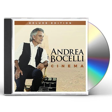 Andrea Bocelli CINEMA CD