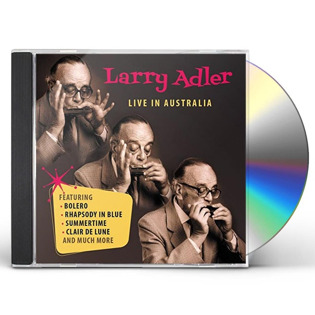 Larry Adler LIVE IN AUSTRALIA CD