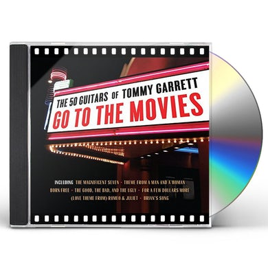 50 Guitars of Tommy Garrett GO TO THE MOVIES CD