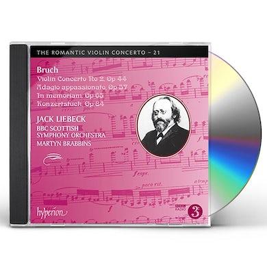 Jack Liebeck ROMANTIC VIOLIN CONCERTO 21 CD