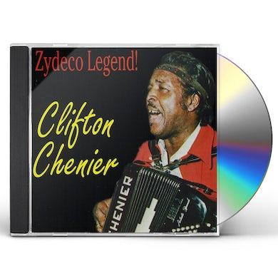 Clifton Chenier ZYDECO LEGEND CD